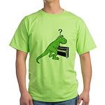 Dino Piano Green T-Shirt