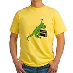 Dino Piano Yellow T-Shirt