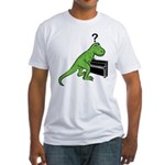 Dino Piano Fitted T-Shirt