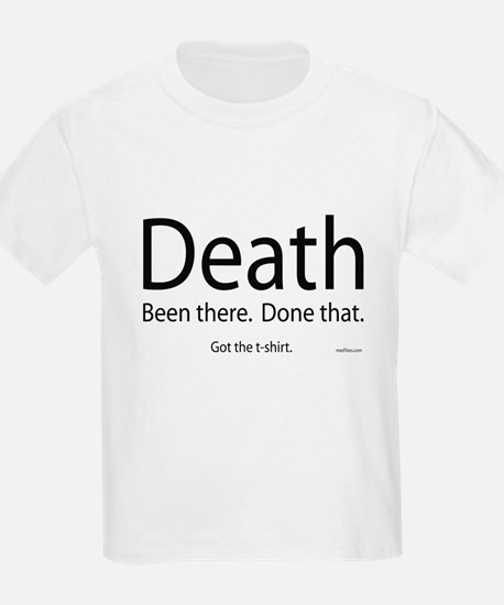 Death - Been There, Done That Kids T-Shirt