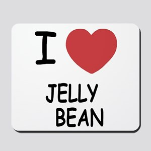 I heart jellybean Mousepad