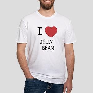 I heart jellybean Fitted T-Shirt