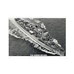 USS MARSH Rectangle Magnet
