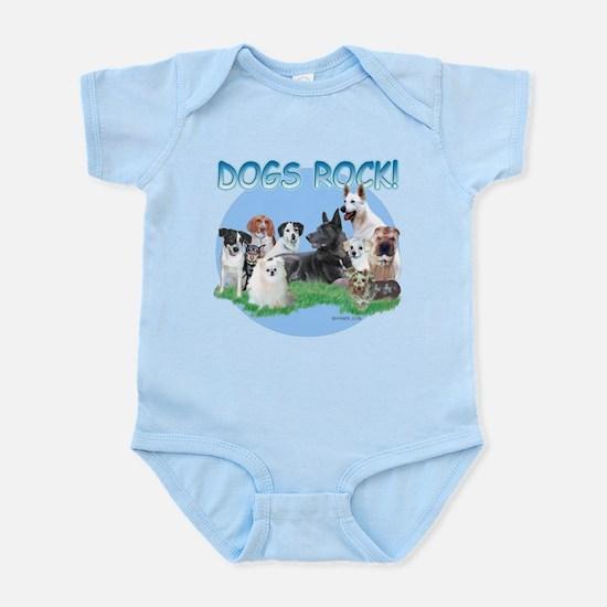 Dogs Rock Infant Bodysuit