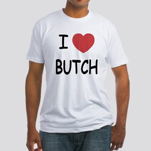 I heart butch Fitted T-Shirt