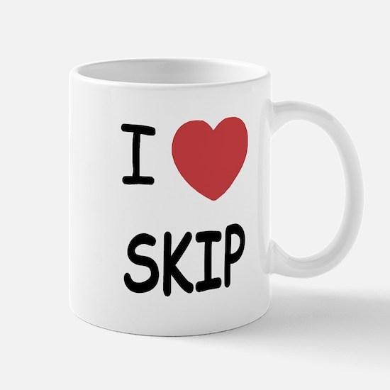 I heart skip Mug
