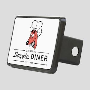Doggie Diner restaurant lo Rectangular Hitch Cover