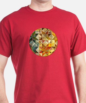 Fun Patchwork Quilt T-Shirt