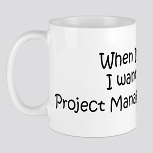 Grow Up Project Management St Mug