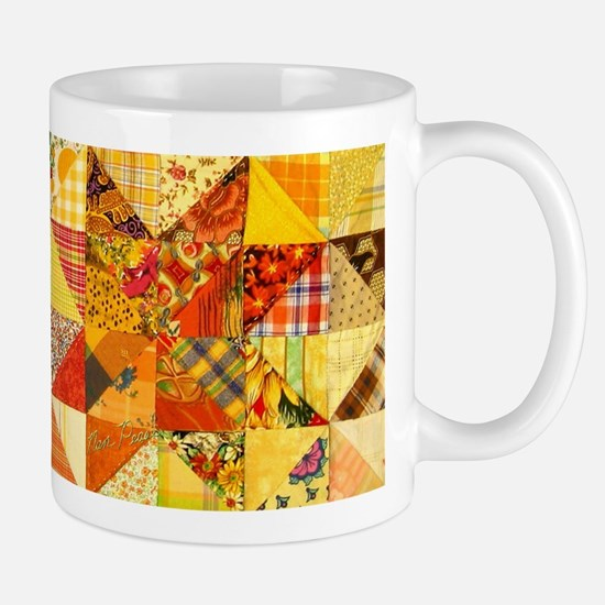 Fun Patchwork Quilt Mug