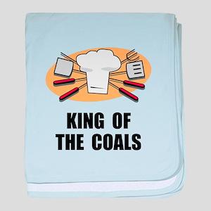 King Of Coals baby blanket