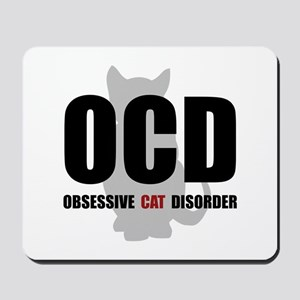 OCD Cat Mousepad