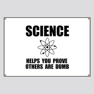 Science Prove Dumb Banner
