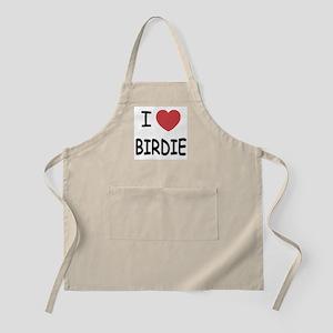 I heart birdie Apron