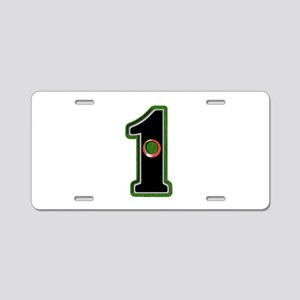 Hole In One! Aluminum License Plate