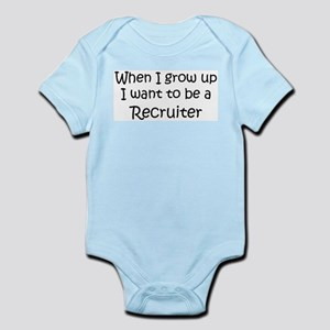 Grow Up Recruiter Infant Creeper