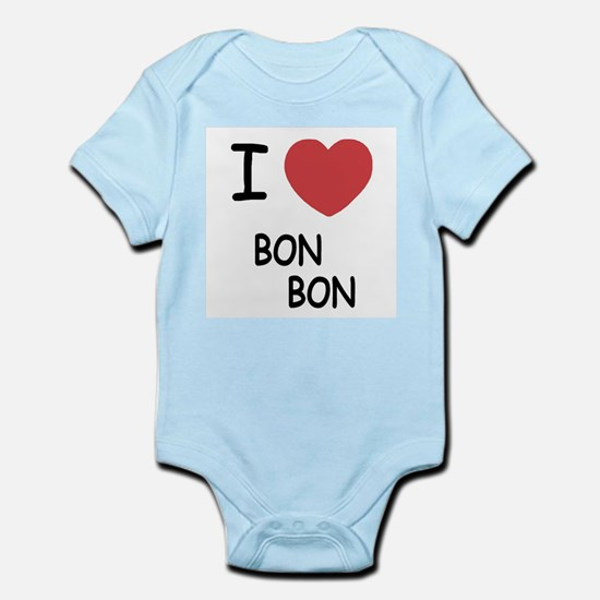 I heart bon bon Infant Bodysuit