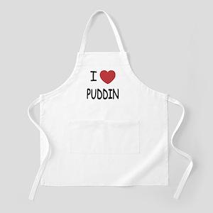 I heart puddin Apron