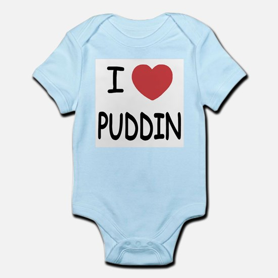 I heart puddin Infant Bodysuit