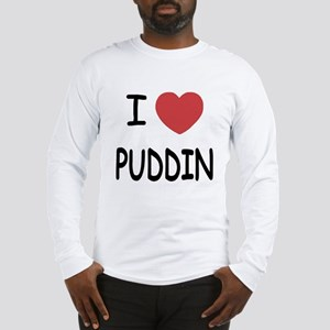 I heart puddin Long Sleeve T-Shirt