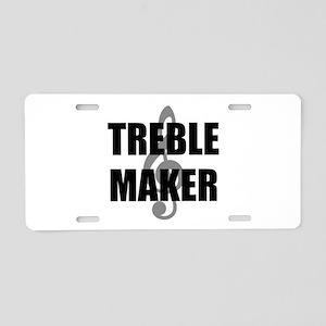 Treble Maker Aluminum License Plate