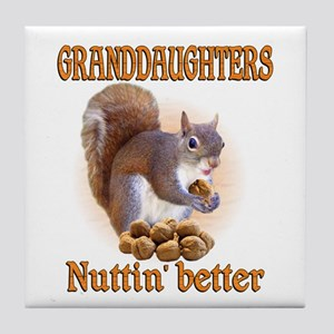Granddaughters Tile Coaster