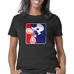 red-White-Blue-Biker Women's Classic T-Shirt