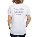Grandchildren Women's V-Neck T-Shirt
