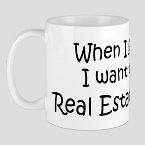 Grow Up Real Estate Broker Mug