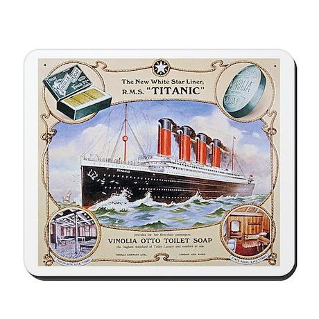 Titanic First Class Soap Mousepad