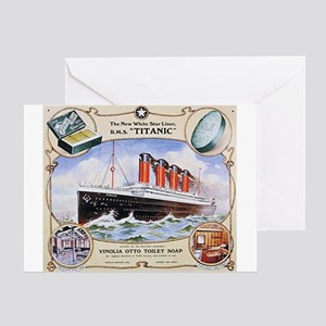 Titanic First Class Soap Greeting Card