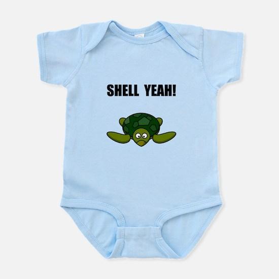 Shell Yeah Infant Bodysuit