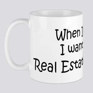 Grow Up Real Estate Appraiser Mug