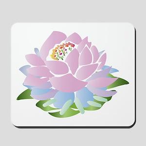 Pink Lotus Mousepad