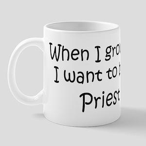 Grow Up Priest Mug
