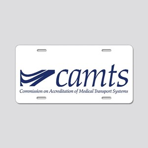 CAMTS logo Aluminum License Plate