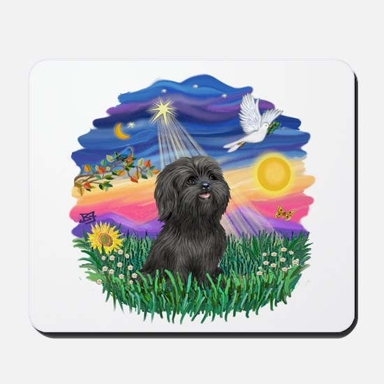Twilight-BlkShihTzu Mousepad