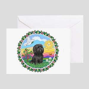 HappySun-ShihTzu#21 Greeting Card