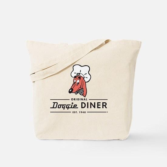Doggie Diner restaurant logo Tote Bag