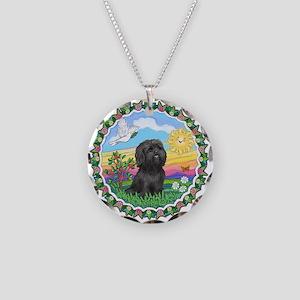 HappySun-ShihTzu#21 Necklace Circle Charm