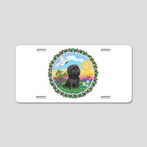 HappySun-ShihTzu#21 Aluminum License Plate