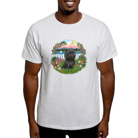 Garden-ShihTzu#21 Light T-Shirt