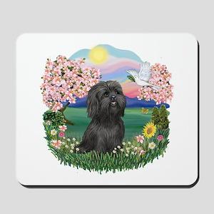 Blossoms-ShihTzu#21 Mousepad