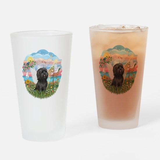 AngelStar/Shih Tzu (blk) Drinking Glass