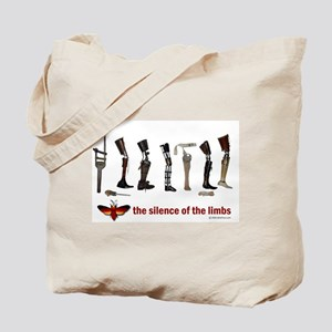 Silence of the Limbs Tote Bag