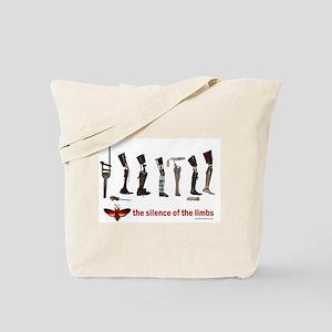 Silence of the Limbs Tote Bag