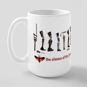 Silence of the Limbs Large Mug