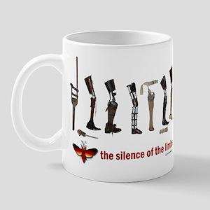 Silence of the Limbs Mug