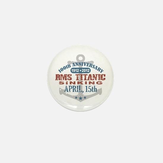 Titanic Sinking Anniversary Mini Button