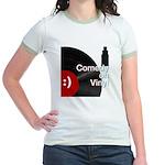 Comedy on Vinyl Jr. Ringer T-Shirt